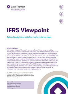 IFRS viewpoint 1 front cover